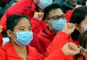 广西第七批支援湖北抗疫医疗队出征 队
