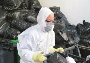 天津发热门诊医院和集中隔离点生活垃圾