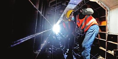 地铁滨铁2号线已全面复工复产