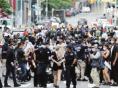 抗议示威活动蔓延美国多地