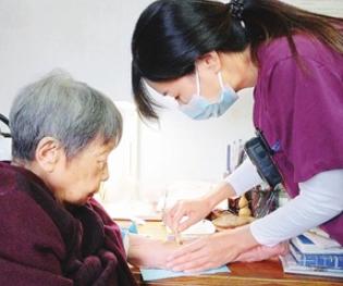 天津:患者家中坐护士上门来