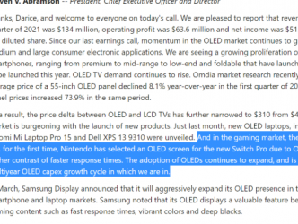 OLED厂商财报确认任天堂Switch Pro存在