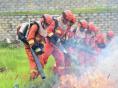 福建森林消防紧贴实战 开展中级消防员晋升培训