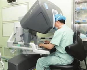 一中心完成机器人二尖瓣微创手术